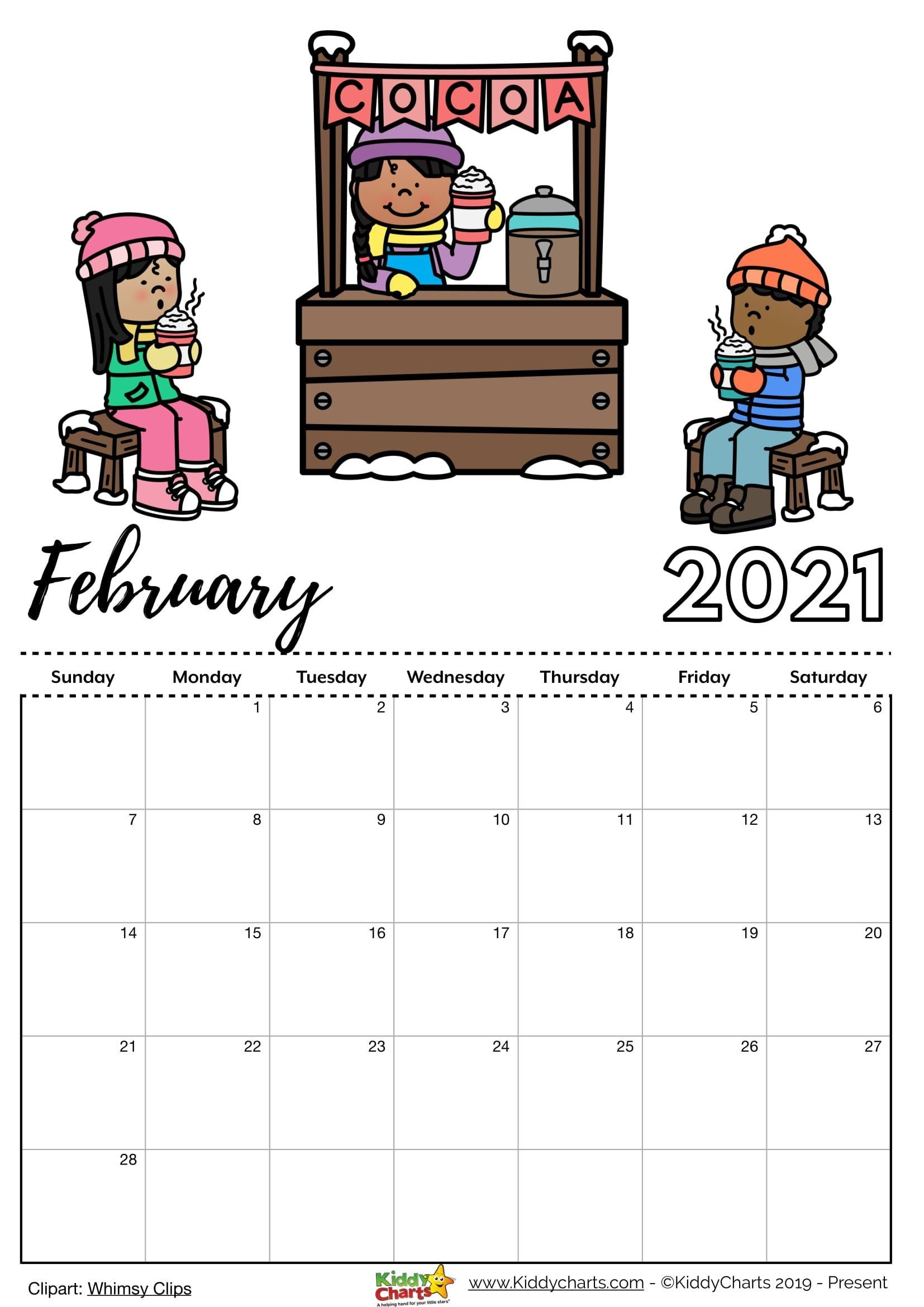 2021 February Editable Calendar In 2021 | Printable Calendar