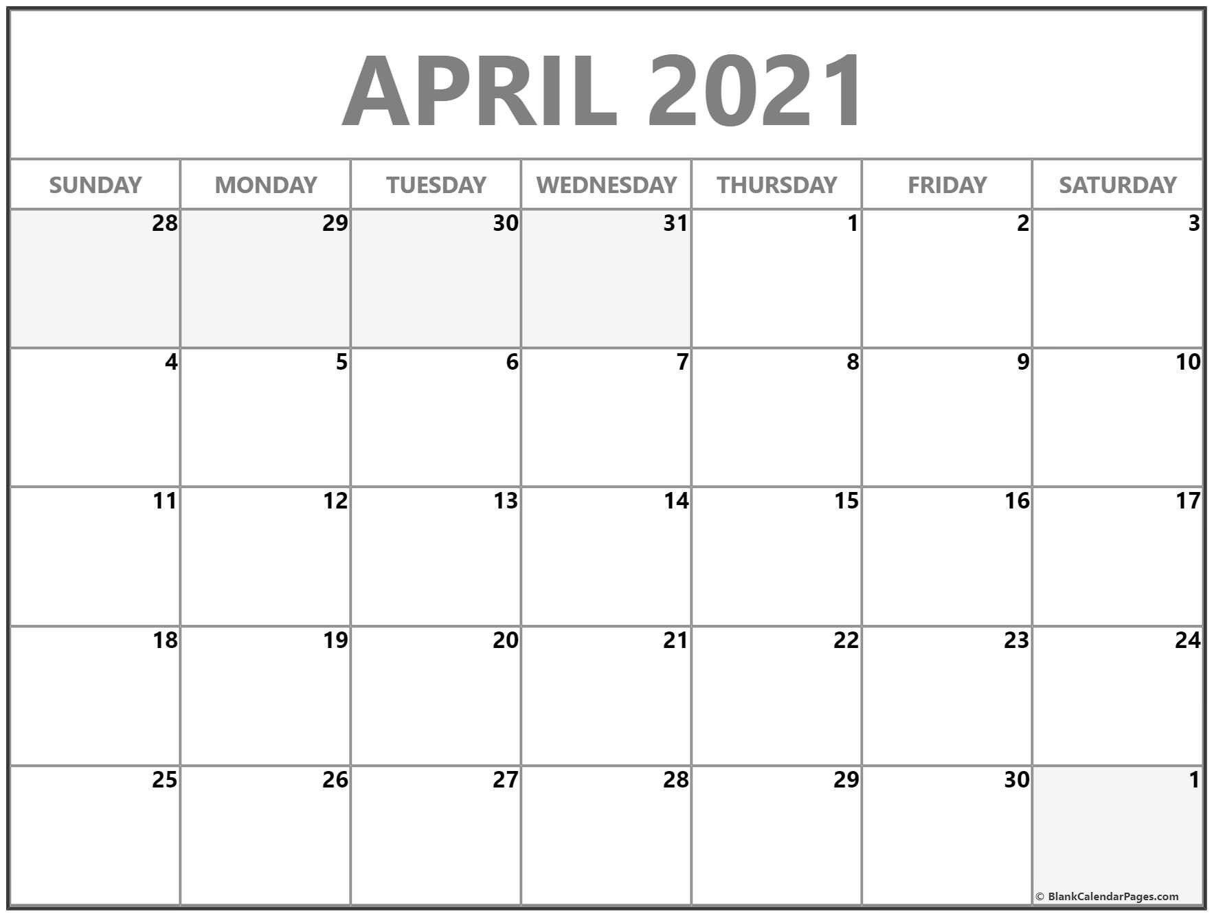 3 Month Calendar February To April 2021 In 2021 | Calendar