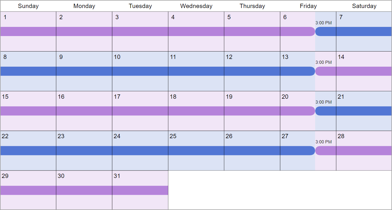 5 Examples Of Shared Parenting Time Schedules