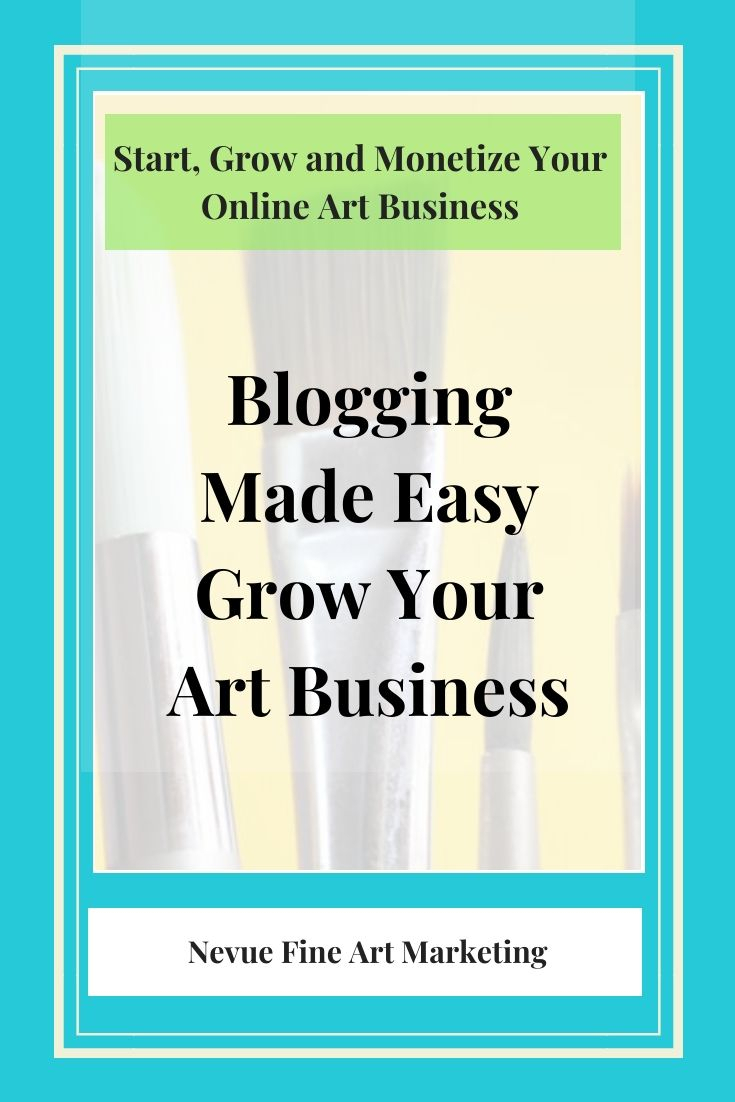Blogging Made Easy Schedule Time To Write. | Selling Art
