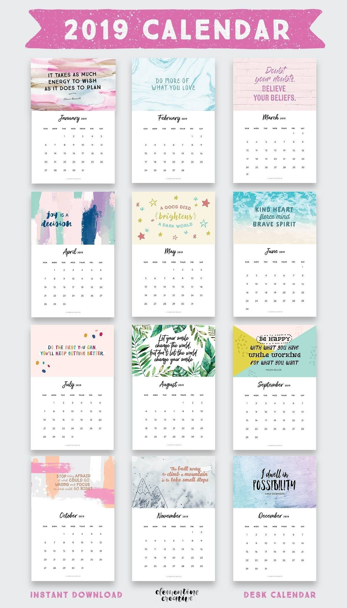 Exceptional 4X6 Monthly Photo Calendar Templates   Calendar