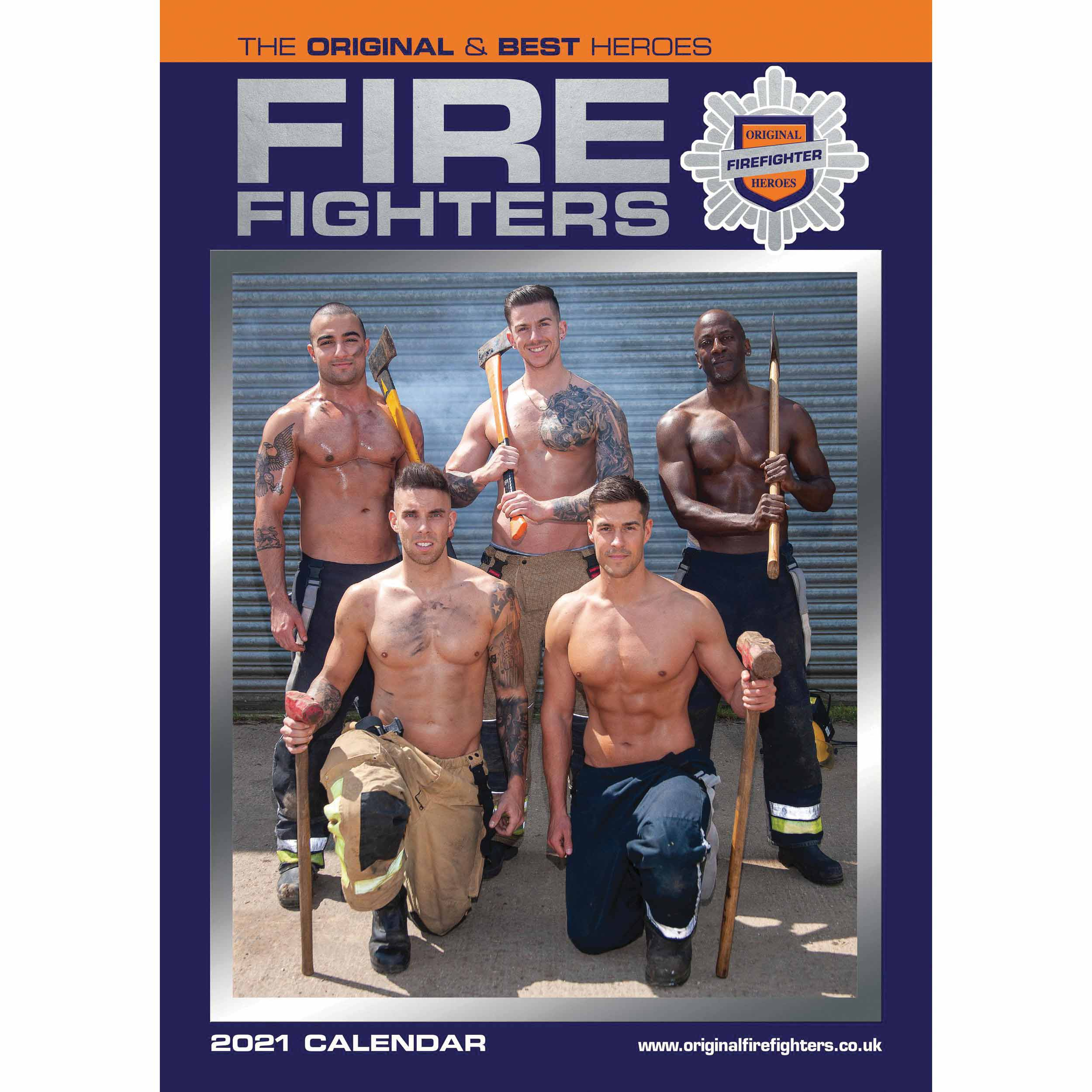 Firefighters A3 Calendar 2021 At Calendar Club