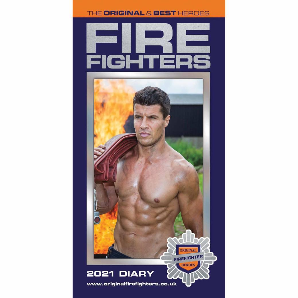 Firefighters Slim Diary 2021 At Calendar Club