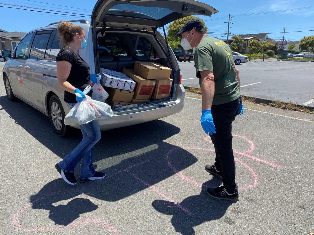 Food For People Reschedules This Month'S Eureka Drive-Thru