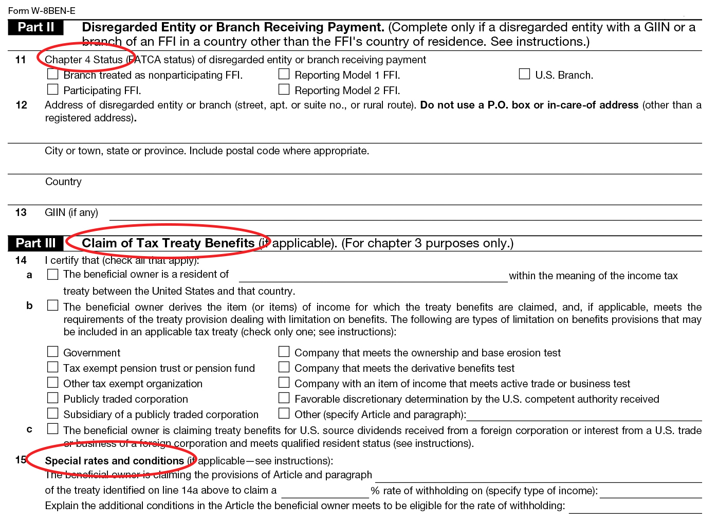 Form W8: Instructions & Information About Irs Tax Form W8