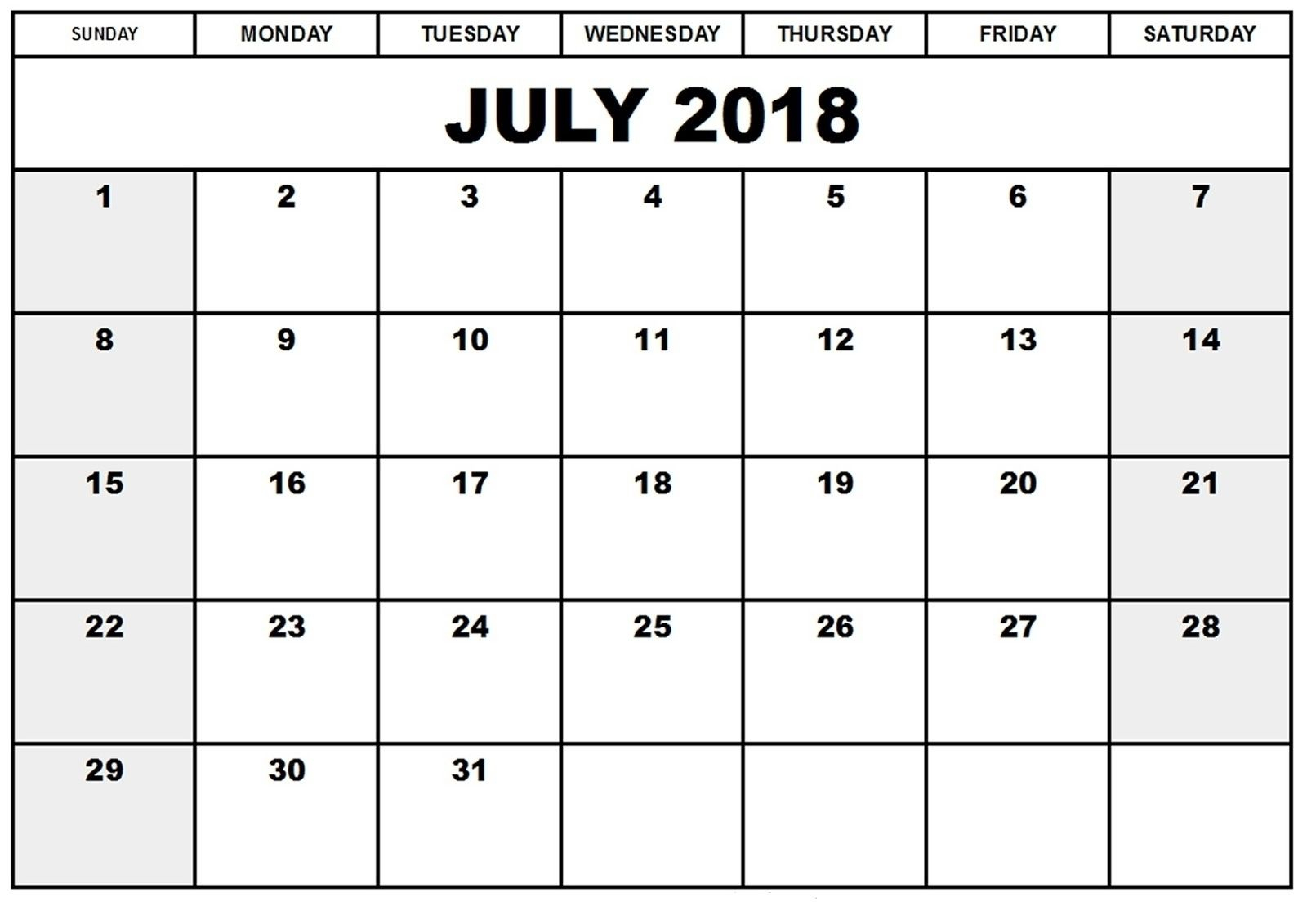 Free Printable 4X6 Monthly Calendar   Blank Monthly Calendar