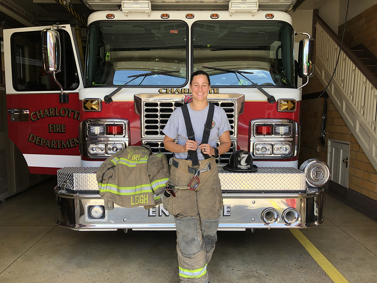 How I Work: 22 Quick Questions With Firefighter Amanda Leigh