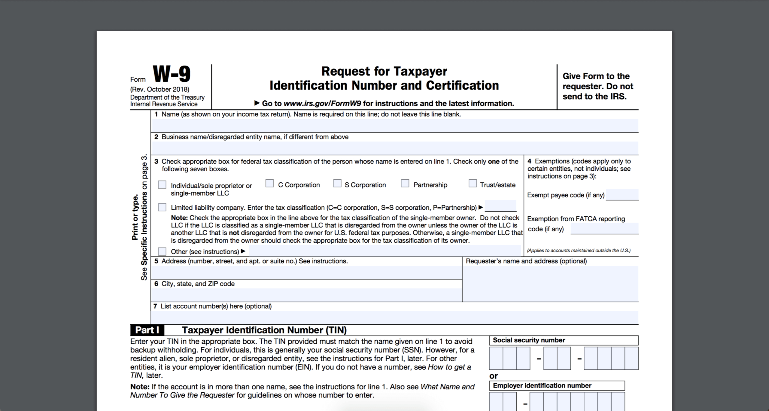 How To Fill Out And Sign Your W-9 Form Online