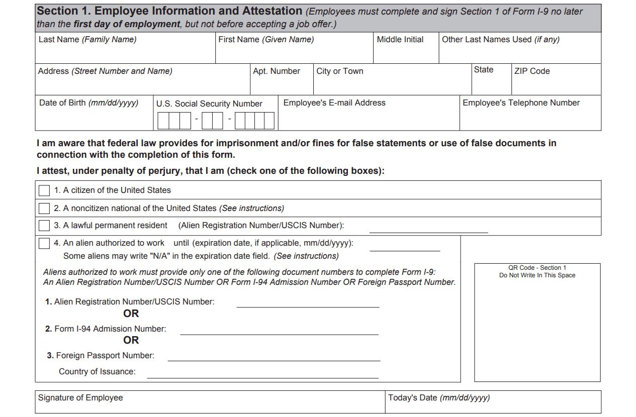 I9 Form 2020 - I-9 Forms