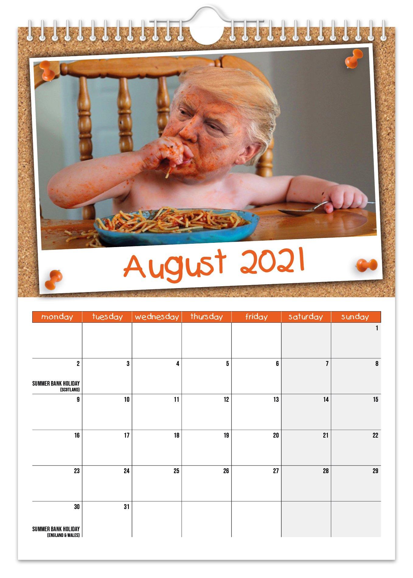 Kid Trump - 2021 A4 Wall Calendar