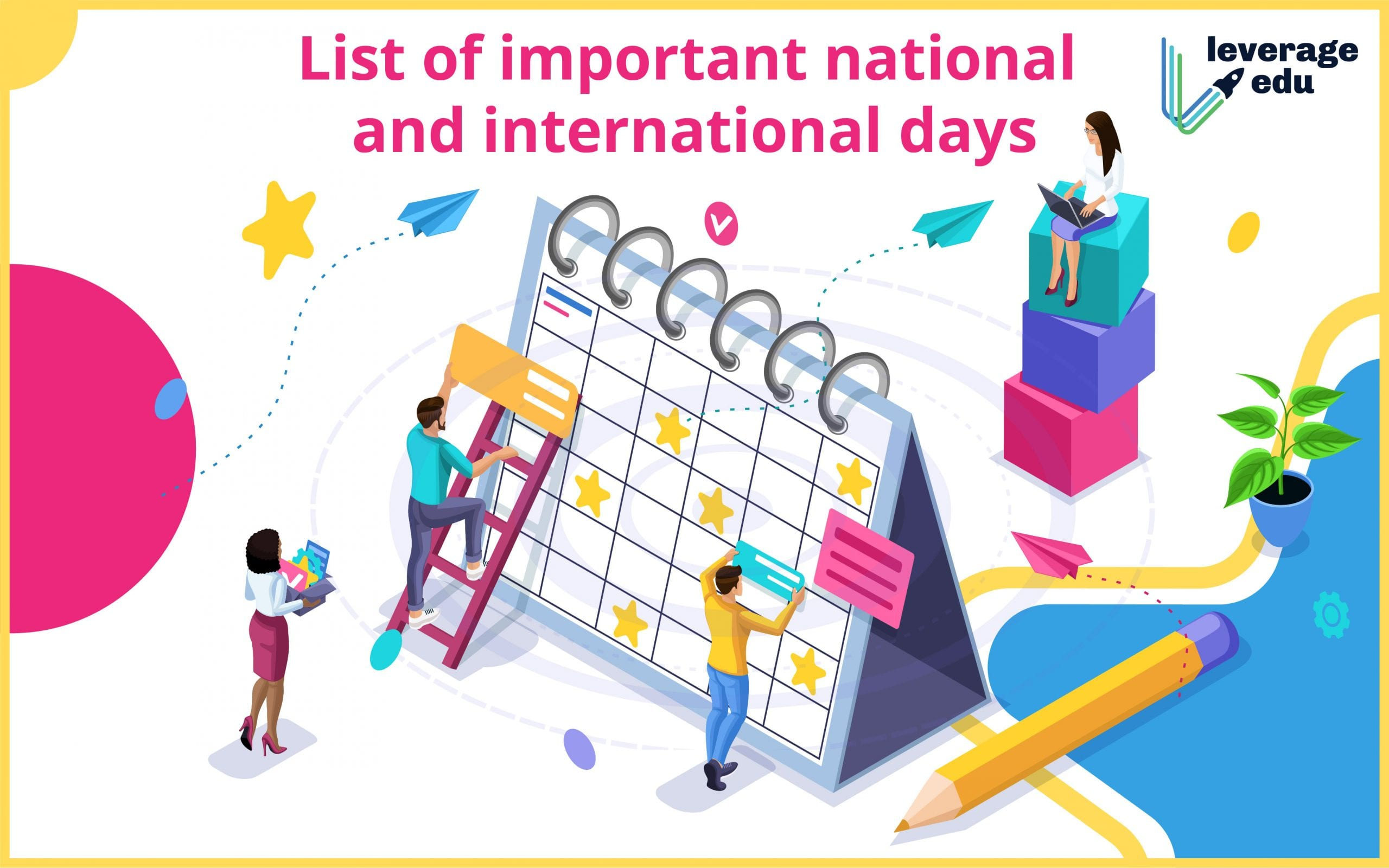 List Of Important National And International Days In 2021
