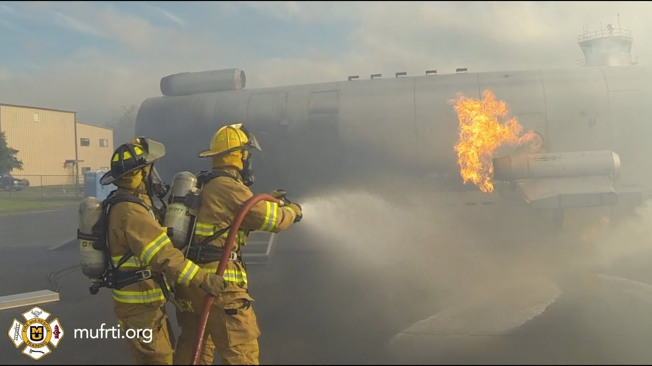 Mobile Aircraft Rescue Fire Fighter Trainer - Fire Product