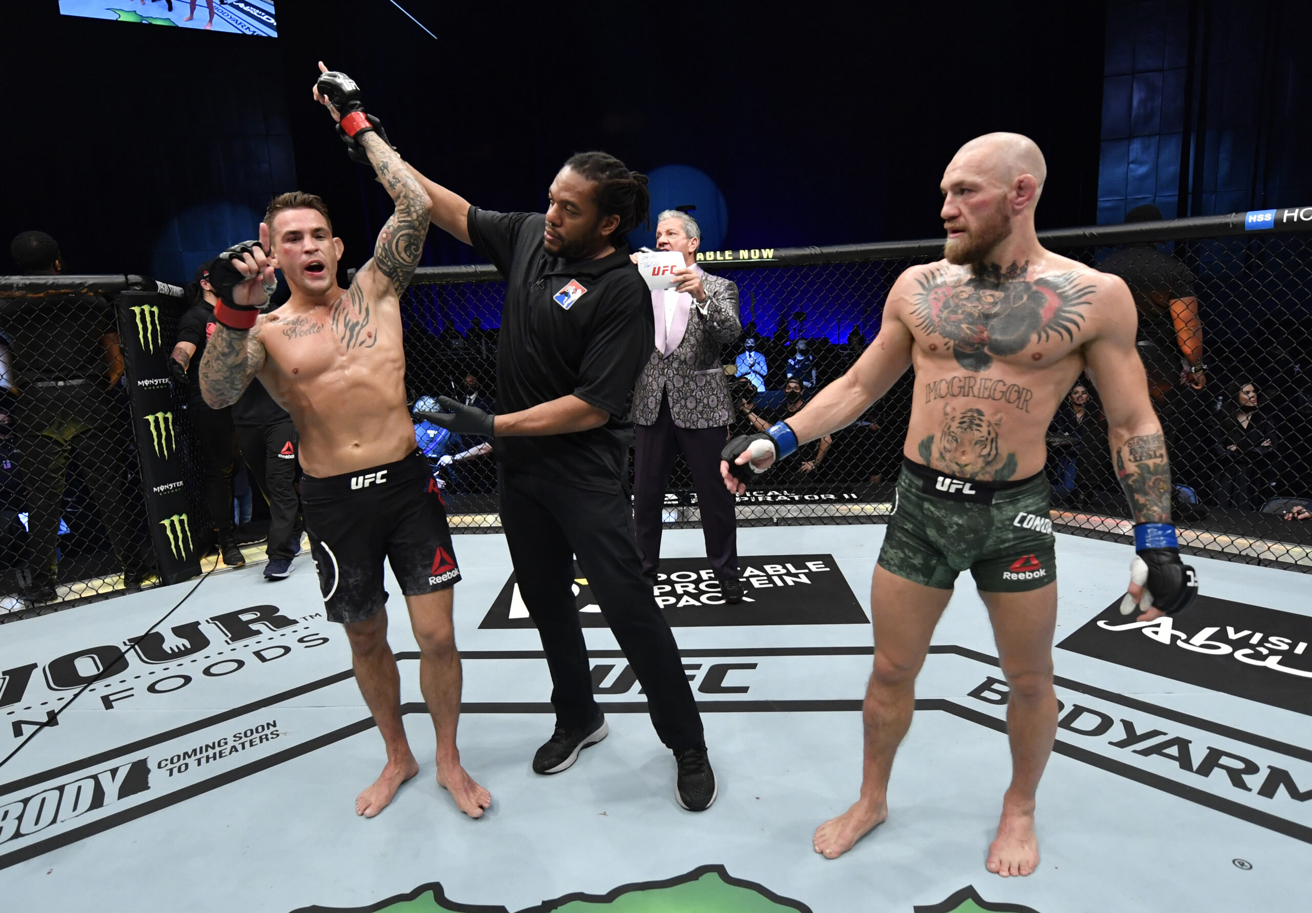 Nba Players React To Dustin Poirier'S Knockout Of Conor Mcgregor