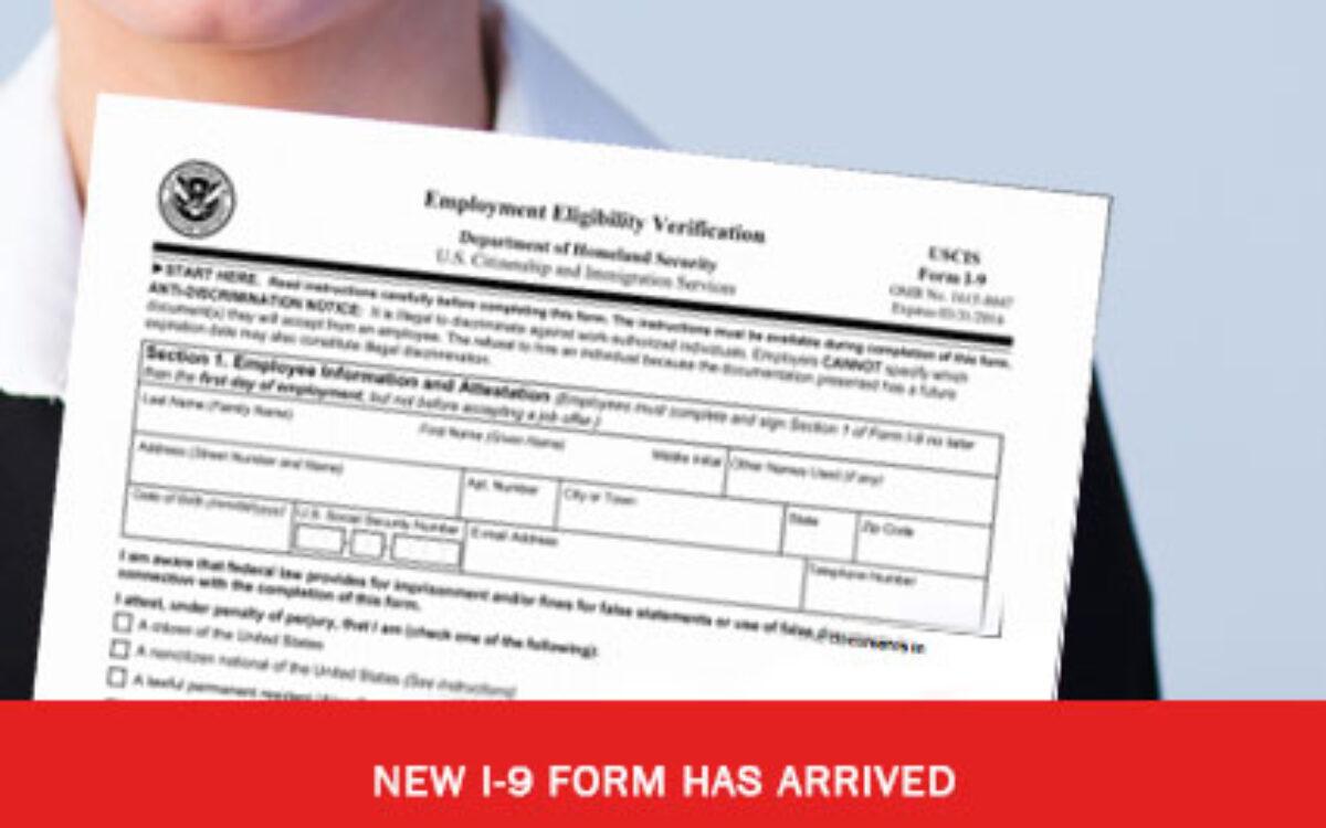 New I9 Form Has Arrived – C2 Essentials, Inc