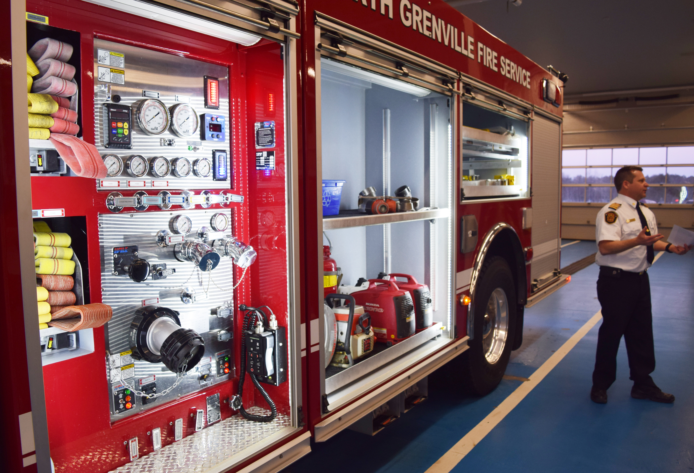 North Grenville Fire Service Receives New Custom-Made Fire