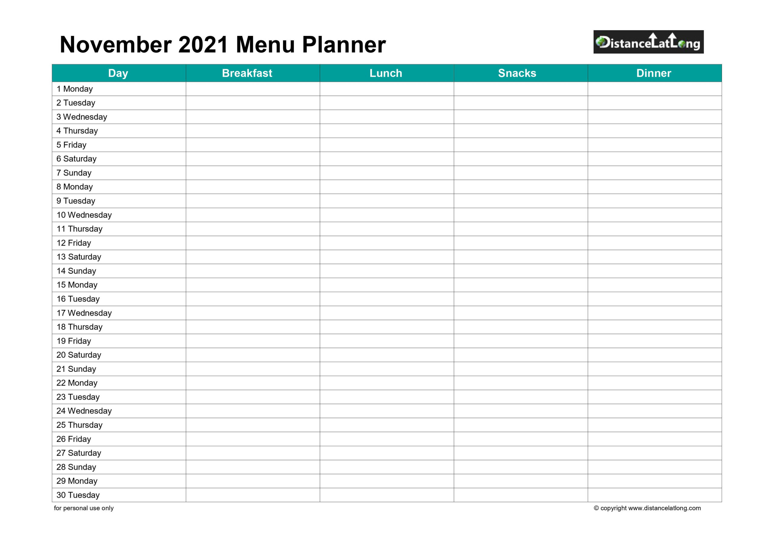 November 2021 Calendars For Pdf, Words And Jpg Formats