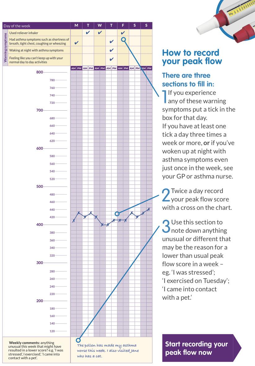 Peak Flows - Guildford Respiratory