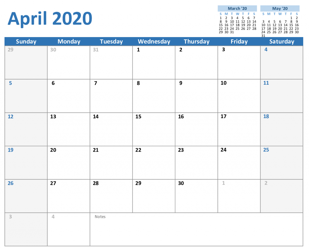 Pin On 2020 Monthly Calendar