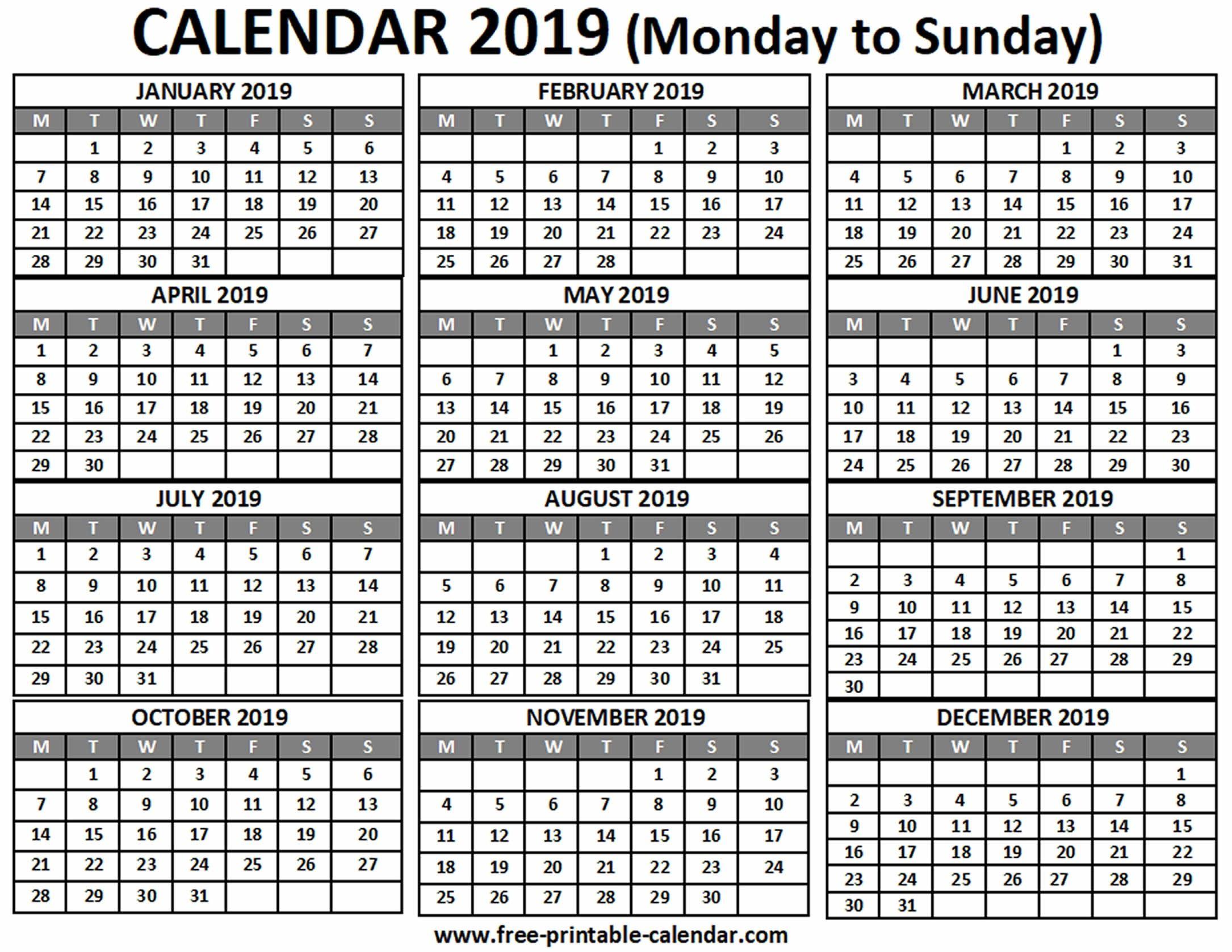 Remarkable 4 Months On One Page Calendar | Calendar