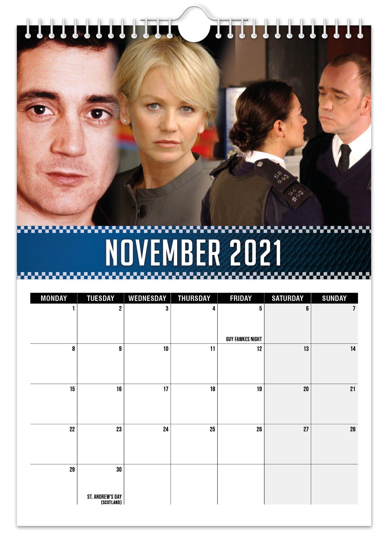 The Bill - 2021 A4 Wall Calendar