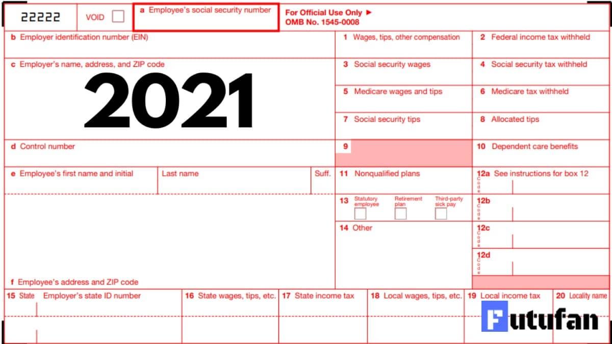 W2 Form 2021 - W-2 Forms