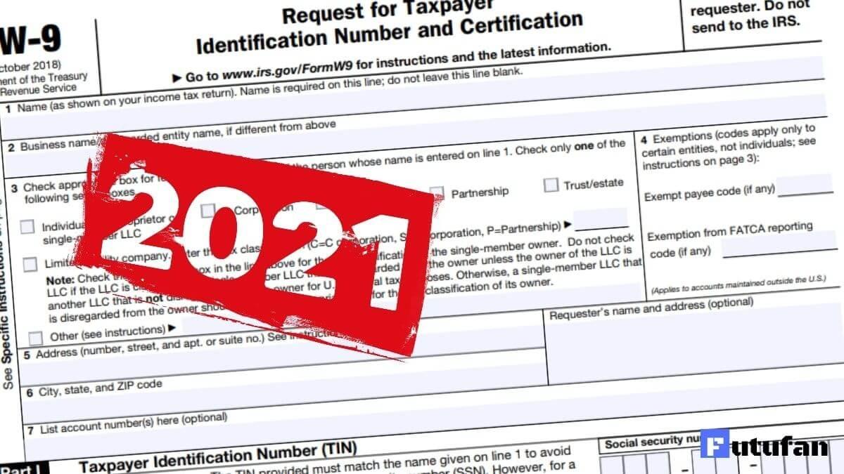 W9 Forms 2021 Printable   W9 Tax Form 2021