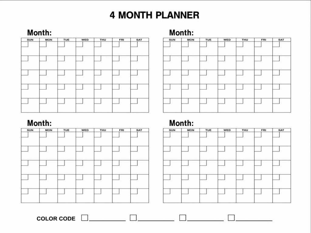 3 Month Blank Printable   Calendar Template Printable