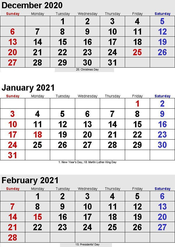 3 Month Calendar 2021 Printable Free To Take   Printable