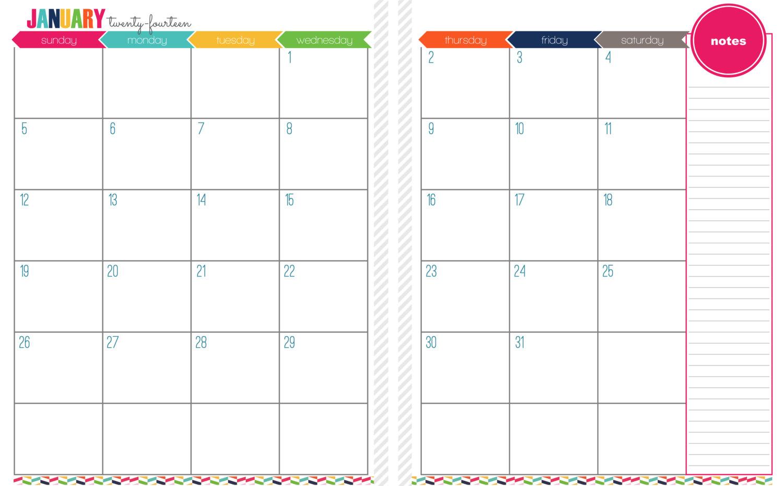 5 Best Two-Month Calendar Printable - Printablee