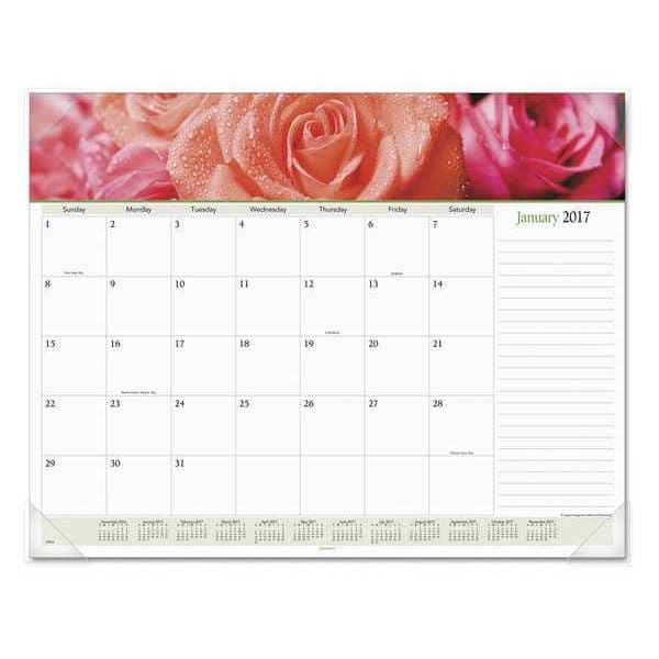 "At-A-Glance 89805 $17.32 22 X 17"" Monthly Desk Calendar"