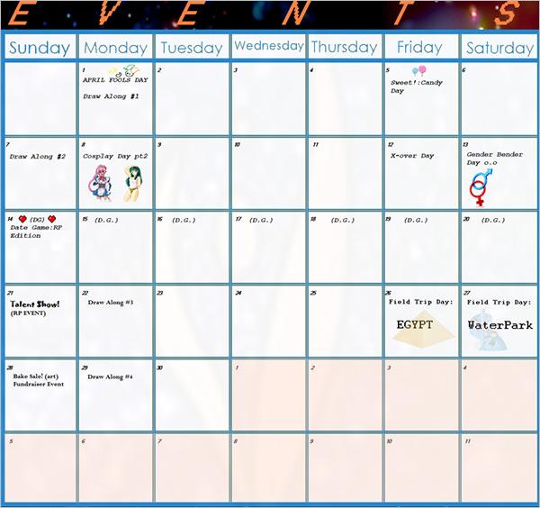Calendar Template Download - Printable Week Calendar