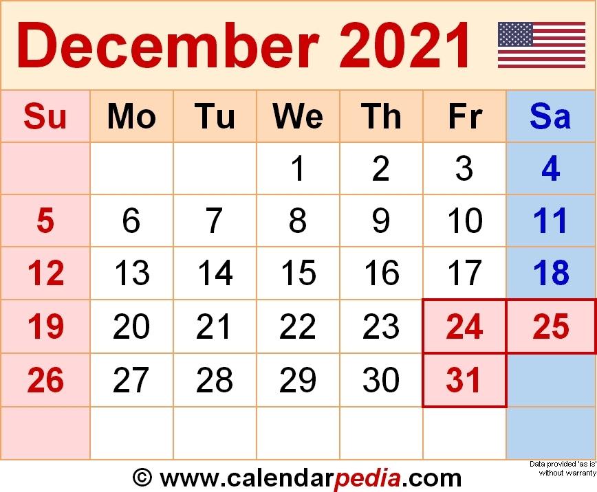 December 2021 Calendar   Calvert Giving