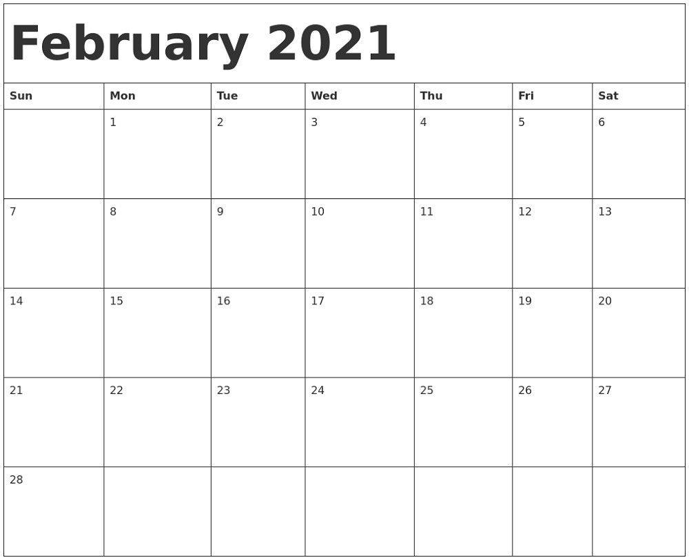 Effective Ms Word Calendar Template 2021   Get Your
