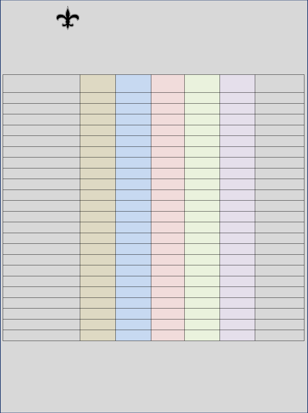 Employee'S Attendance Sheet Template In Word And Pdf Formats