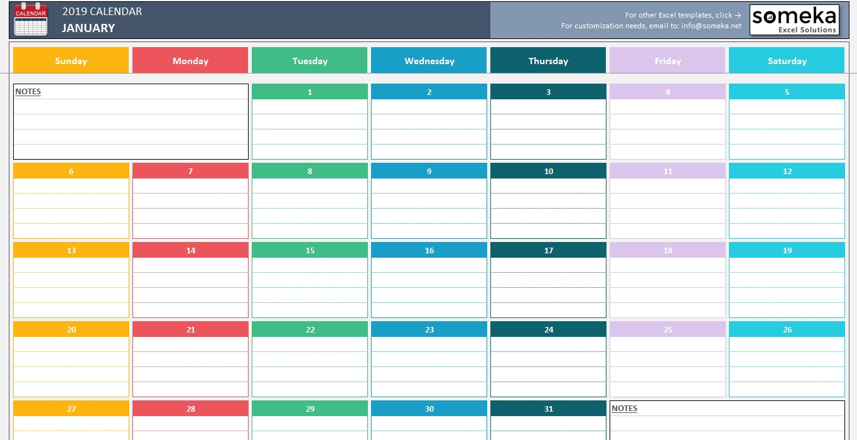 Excel 2020 Calendar Drop Down   Calendar Template 2021