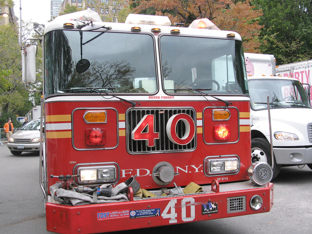 Firefighters Sue Siren Maker Over Their Hearing Loss