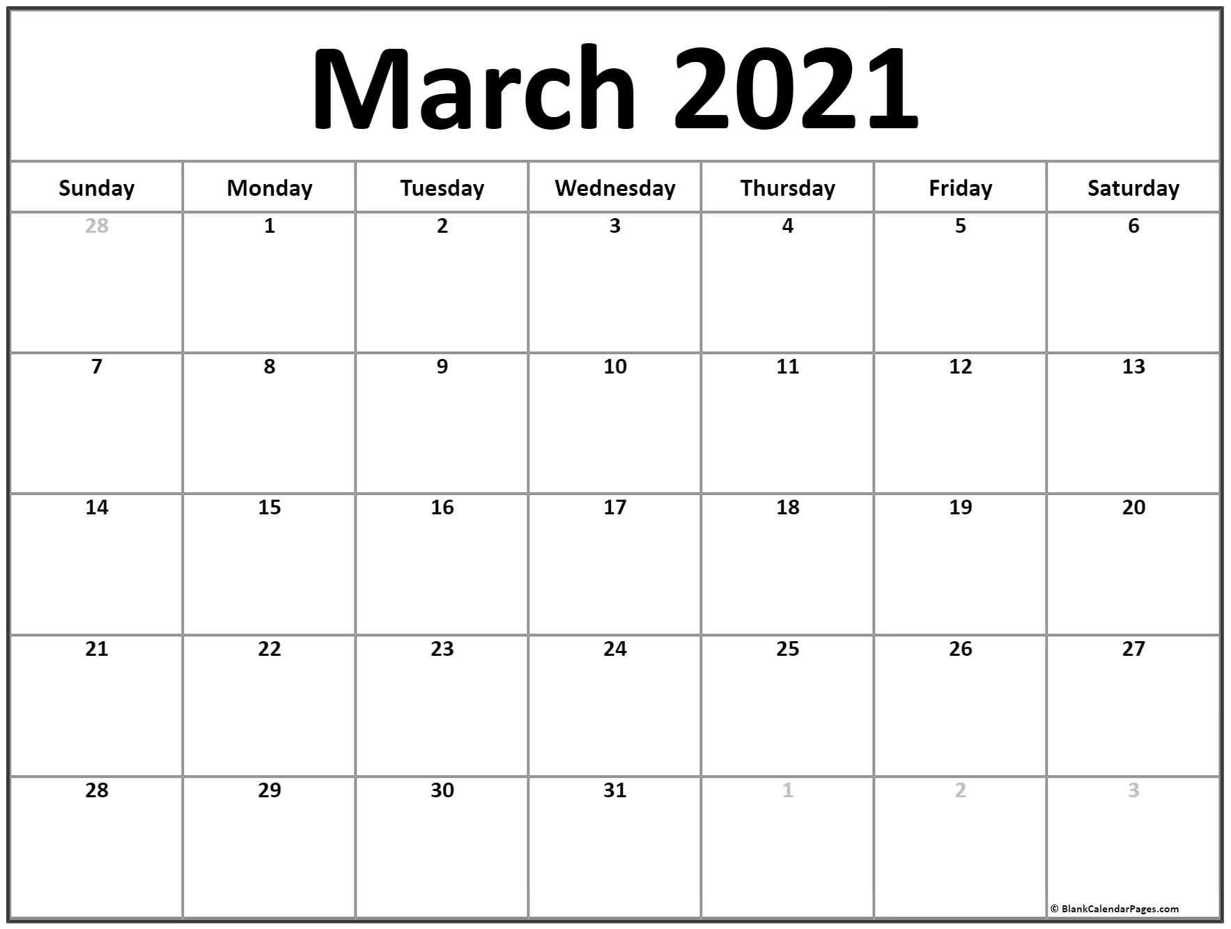 Free 2021 Printable Coloring Pages Calendarmonth | Ten