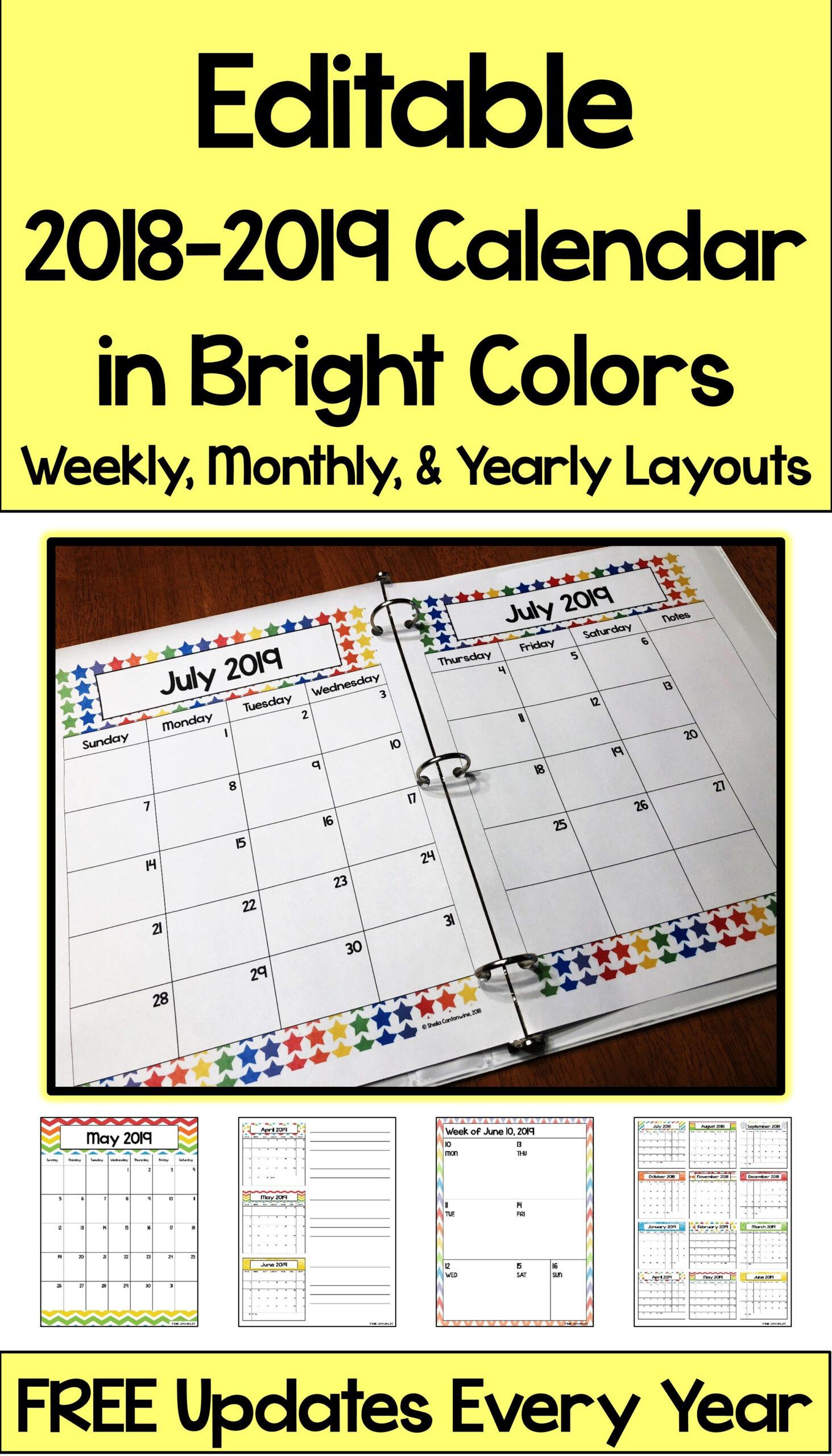 Free Editable 2021 Calendars   Calendar Printables Free Blank
