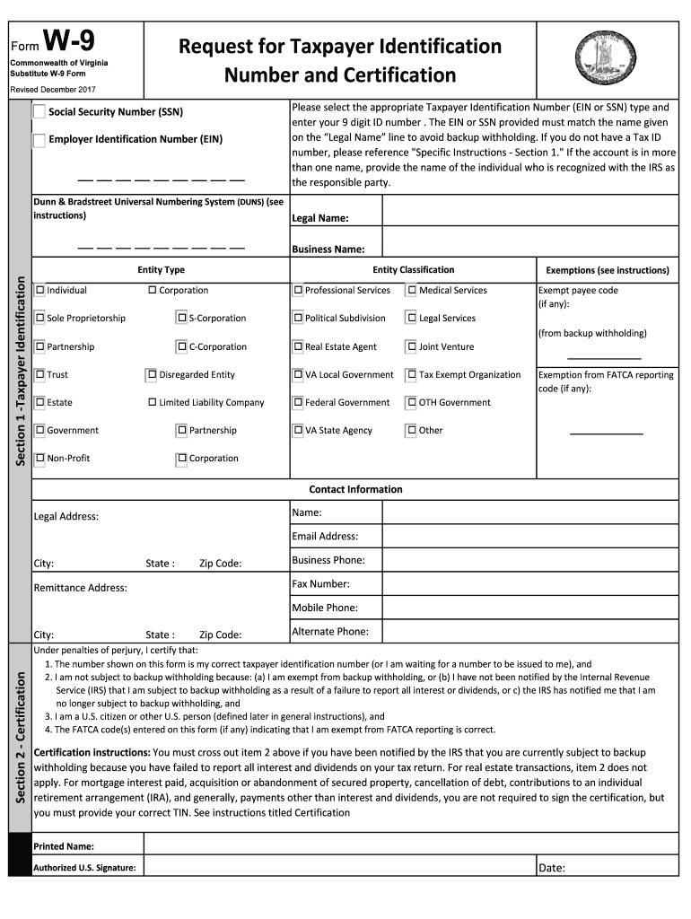 Get W-9 Form 2020   Calendar Printables Free Blank