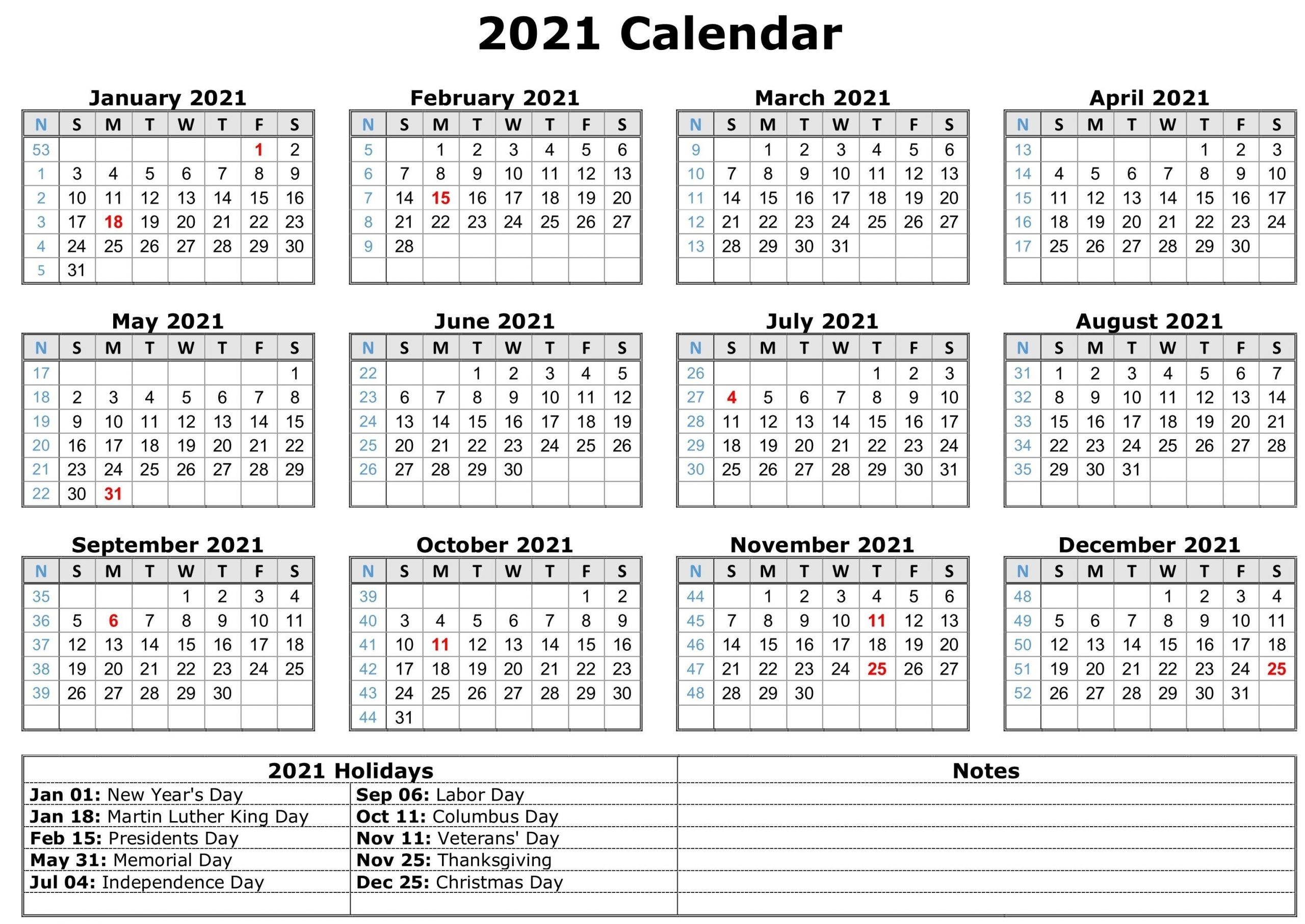 Perfect Daily Calendar 2021 With Hours | Get Your Calendar
