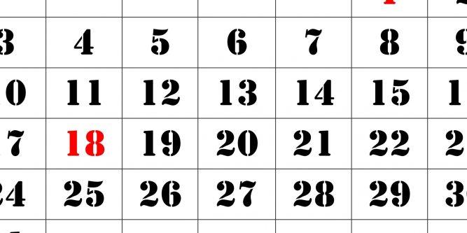 Printable Calendar 2021 Large Font   Free Printable Calendar 2021