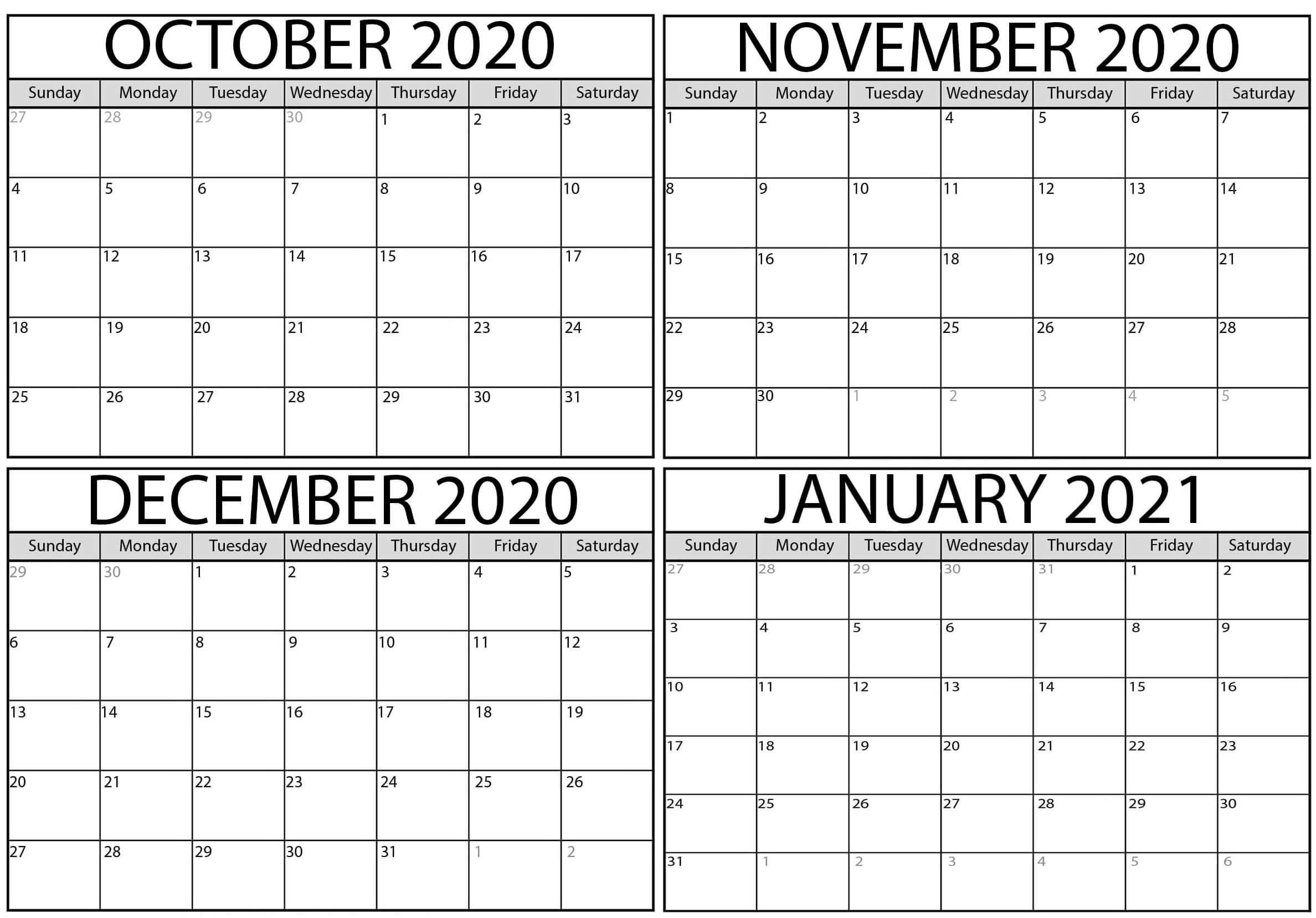 Printable October 2021 Map | Free Printable Calendar