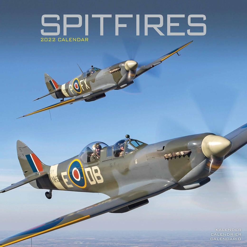 Spitfires Calendar 2022 At Calendar Club